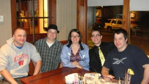 My brothers Brian, Craig, Mike, Ben and I